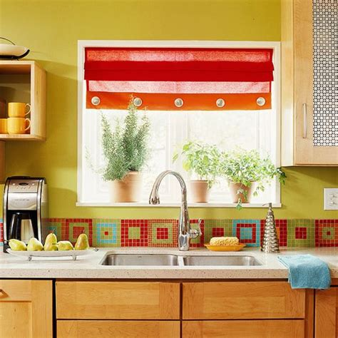 colorful  original kitchen backsplash ideas digsdigs