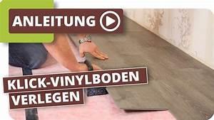 Klick Vinylboden Verlegen : klick vinylboden verlegen anleitung youtube ~ Watch28wear.com Haus und Dekorationen