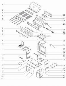 Weber 30400042 Parts List And Diagram   Ereplacementparts Com