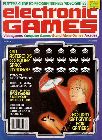 Magazine Basic Retro Corporate 1990s Games Electronic