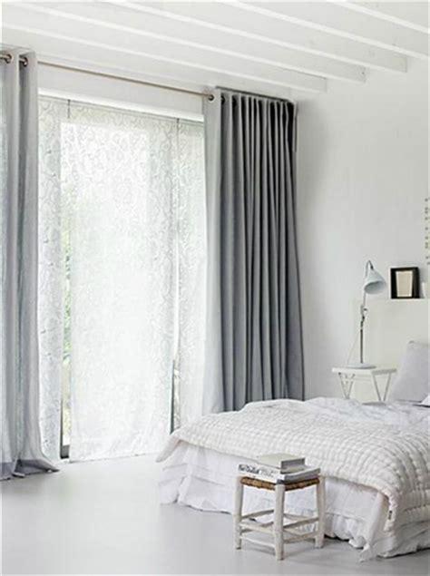 chambre gris souris chambre blanche rideaux gris souris
