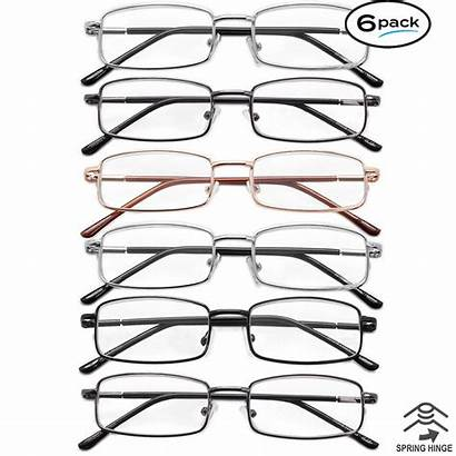 Glasses Reading Frame Metal Pack Spring Value