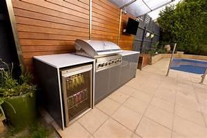 Bbq outdoor kitchen kitchen decor design ideas for Bbq outdoor kitchen