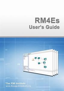 Rm4es User U0026 39 S Guide