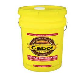 cabot transparent solid exterior wood stain at lowes