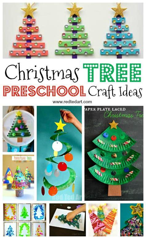 christmas trees preschoolers preschool christmas