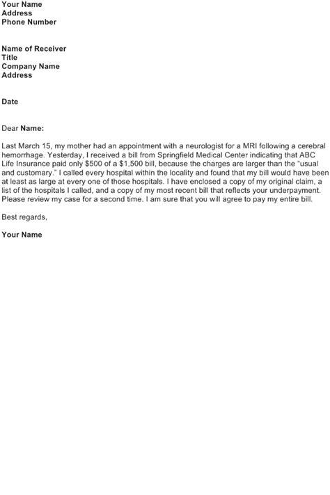 Complaint Letter Sample - Download FREE Business Letter