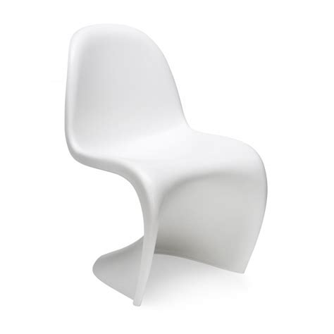 verner panton chaise white s chair cult furniture uk