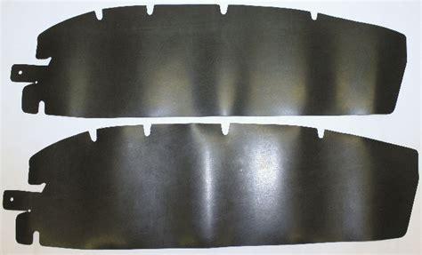 Chevy Parts » Door Seal, To Hinge, Die Cut Rubber