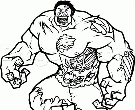 coloring pages  zombie marvel heroes zombie