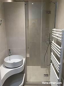 paroi et porte de douche sur mesure With porte douche sur mesure