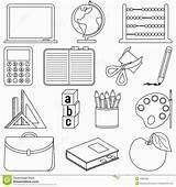 Supplies Coloring Kindergarten Worksheets Froggy Printable Schools Letter Uteer sketch template