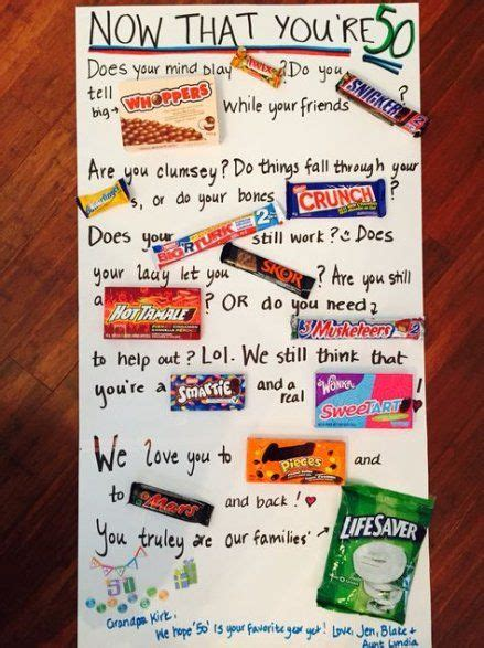 20% off with code fourthjuly21. 53+ ideas craft gifts for friends candy bars   Candy cards ...