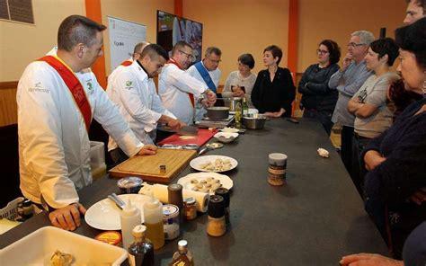 ecole de cuisine gratuite sous tous ses éclats la truffe fait recette à jarnac