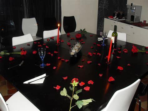 Décoration Table Pour Diner Romantique