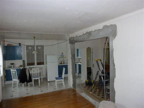 ouverture cuisine salon ouverture mur cuisine salon 1 appartement annecy le