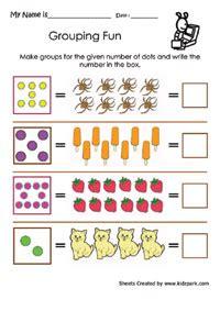 grouping fun worksheetsdownloadable activity sheets