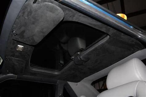 Tmi Mustang Suede Headliner W/ Abs Board Black (85-92