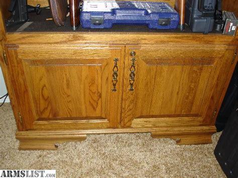 armslist for sale trade oak gun cabinet