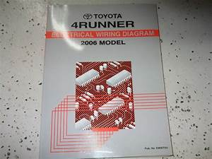 2006 Toyota 4runner 4 Runner Electrical Wiring Diagrams