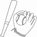 Baseball Coloring Bat Glove Ball Printable Fathers Bats Children Colouring Bigactivities Template Activity Gloves Activityshelter Father Sport Crafts Dec Football sketch template
