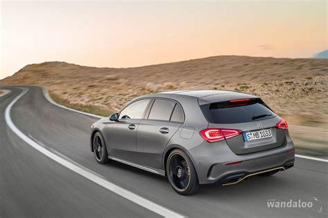 L'une des formes les plus classiques de l'automobile est à présent l'une des plus modernes. Mercedes Classe A 2019 - wandaloo.com