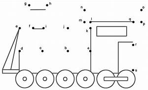 train 3 connect the dots by lowercase letters With connect the dots letters and numbers