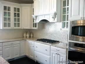 100 of pearl tiles for kitchen backsplash - Groutless Kitchen Backsplash