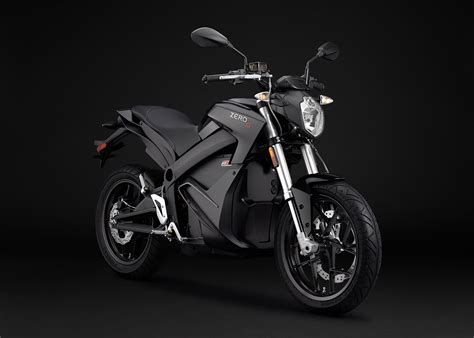 2015 Zero S Electric Motorcycle Black Angle Right