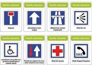 Jeu Code De La Route : jeu des 5 familles de panneaux de signalisation routi re famille indication architecture ~ Maxctalentgroup.com Avis de Voitures