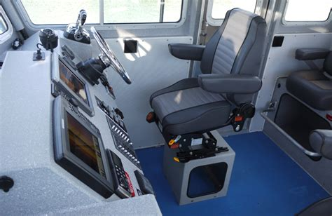 Boat Seats Suspension by Interior Outfitting Options For Landing Craft Wheelhouse