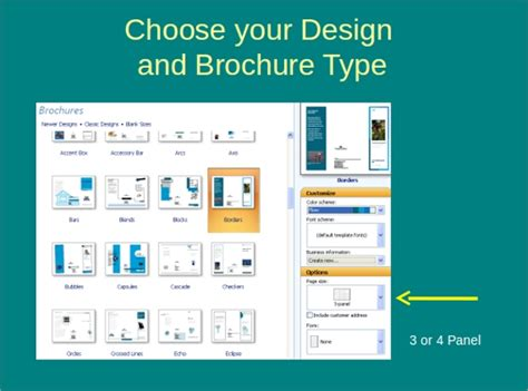 powerpoint brochure templates sample templates