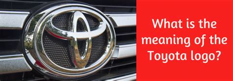 meaning   toyota logo