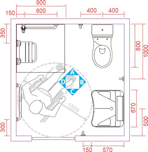 Bagno Handicap by Configurazione Tipo Di Istallazione Di