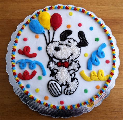 snoopy cake  cute   cakes inspiration