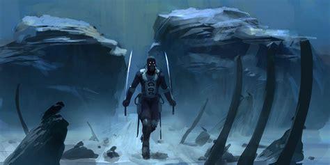 leonid enin sci fi concept artist  concept art