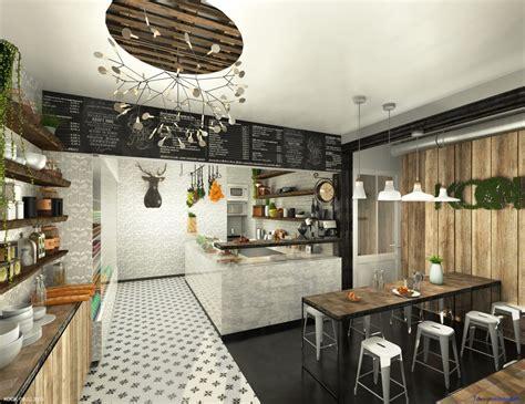 cuisine restauration rapide decoration salon avec cuisine ouverte 13 kook