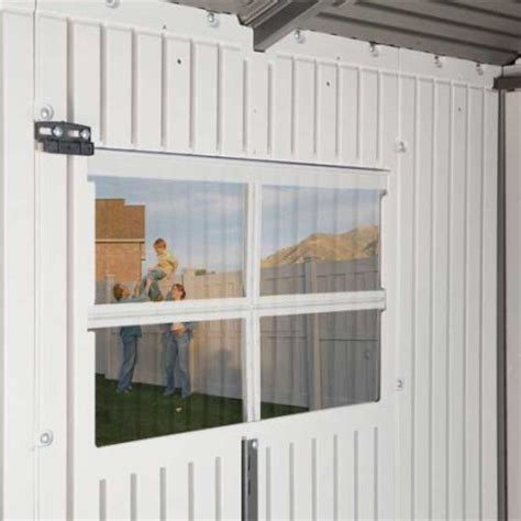 Lifetime Products Gable Storage Shed 7x7 by Lifetime 7x7 Plastic Shed 60014 Summer Offer