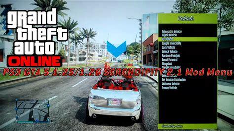 After launch gta 5 go online 4. PS3 GTA 5 1.25/1.26 SERENDIPITY 2.1 Mod Menu - YouTube
