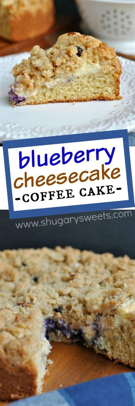 blueberry cream cheese coffee cake shugary sweets