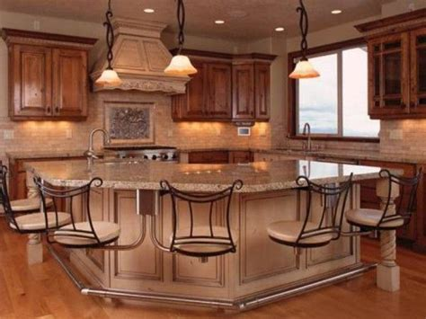 kitchen island designs with seating this island suspension of disbelief kitchen island