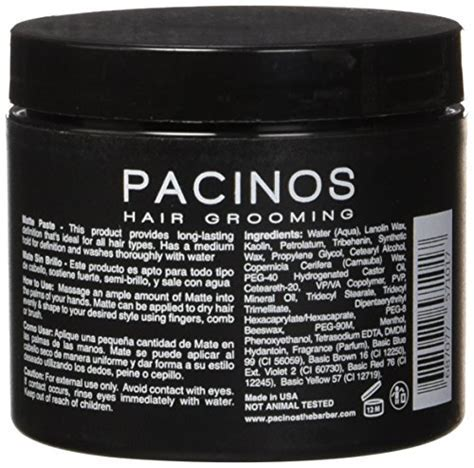 Pacinos Matte, 4 Ounce   Buy Online in UAE.   Health and