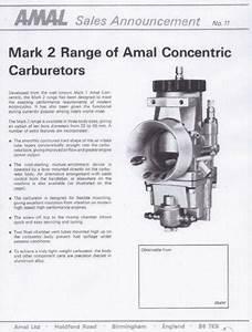 Amal Mk2  Motorcycle Parts