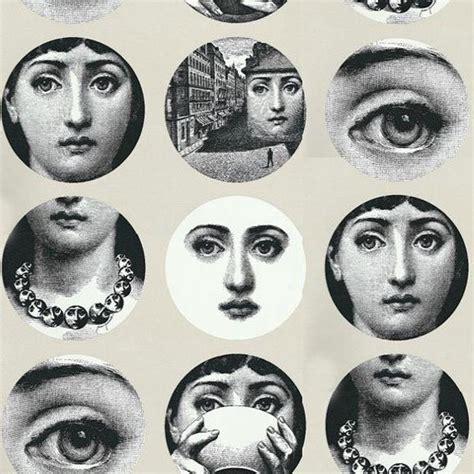 fornasetti tema e variazioni wallpaper modern