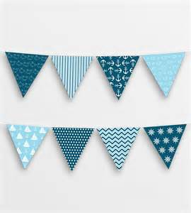Bunting Flags Template Printable