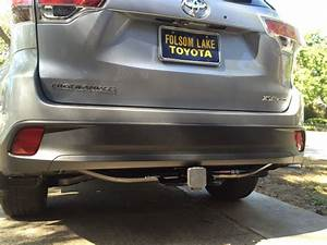2016 Toyota Highlander Trailer Hitch