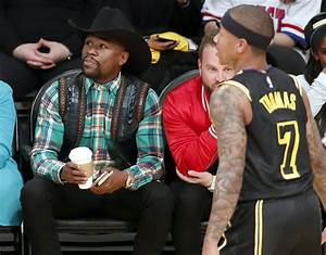 Floyd Mayweather wears cowboy outfit to NBA game | Sport ...