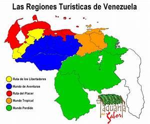 Mapa de venezuela con sus regiones Imagui