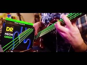 DR Neon Green string review & test
