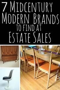 7 Midcentury Modern Brands at Estate Sales Estate Sale Blog